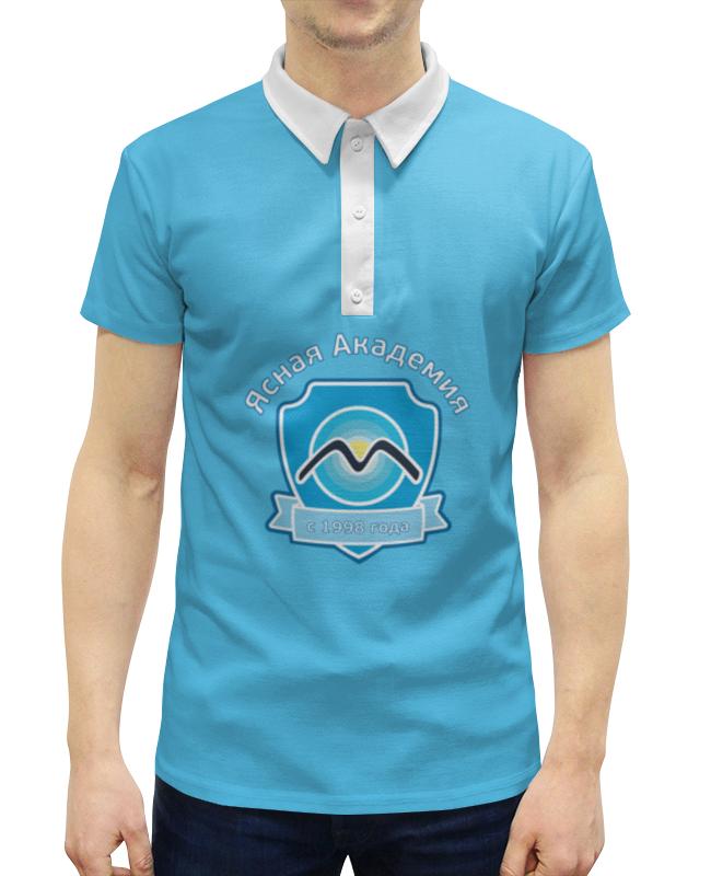 Рубашка Поло с полной запечаткой Printio Ясная академия с 1998