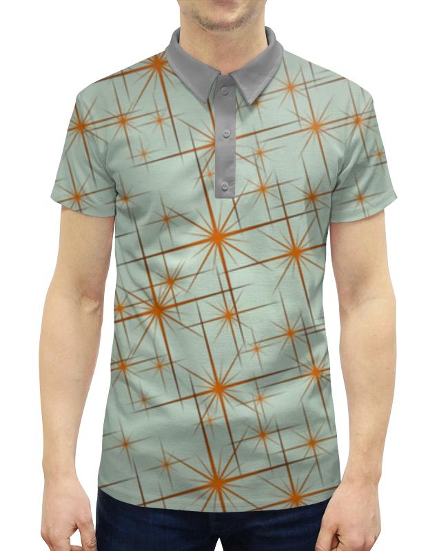 Printio Абстракция рубашка поло с полной запечаткой printio монстр