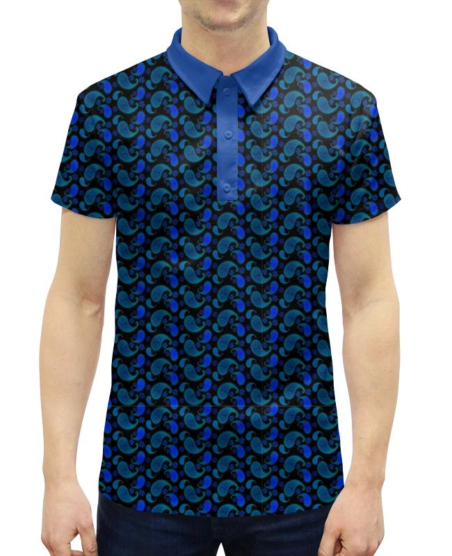 Printio Мужской орнамент пейсли на черном фоне богатая птица fuguiniao мужской деловой случайный куртка мужской удобный slim воротник рубашка 17014fg1703 темно синий m