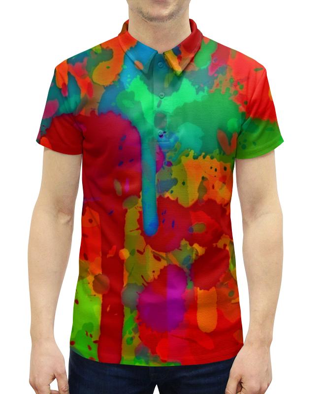 Printio Сочные краски рубашка поло с полной запечаткой printio краски