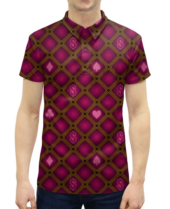 Рубашка Поло с полной запечаткой Printio Абстракция