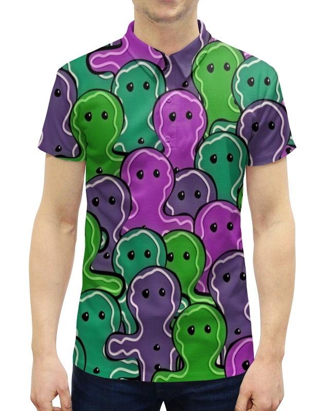 Рубашка Поло с полной запечаткой Printio Печенька