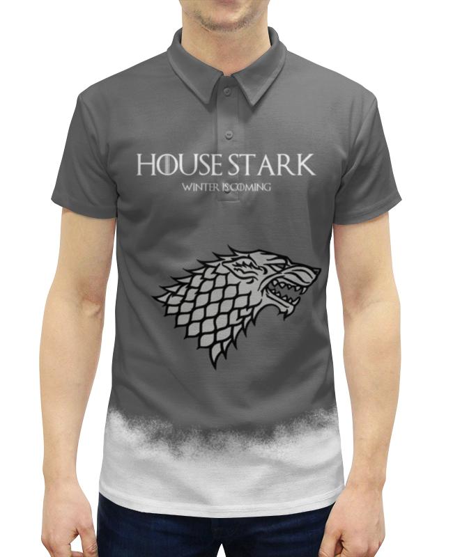 Рубашка Поло с полной запечаткой Printio House stark teak house стол консольный banda