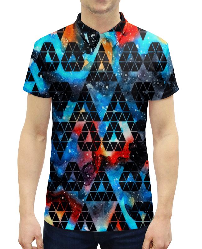 Рубашка Поло с полной запечаткой Printio Орнамент