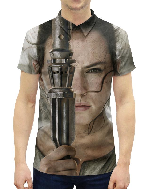 цена на Рубашка Поло с полной запечаткой Printio Звездные войны - рей