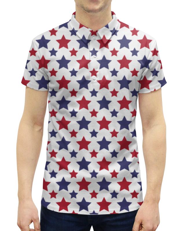 Рубашка Поло с полной запечаткой Printio Stars рубашка поло printio фк нефтехимик