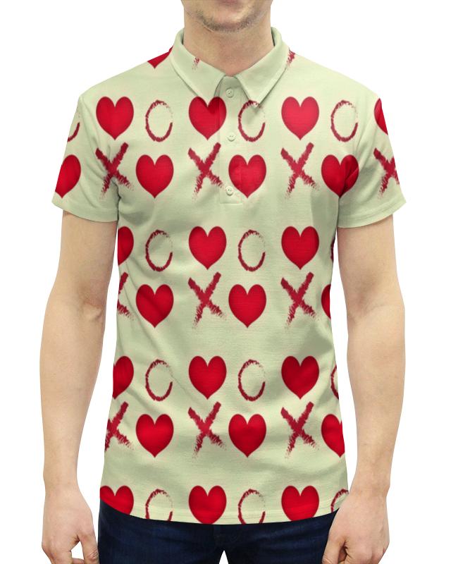 Рубашка Поло с полной запечаткой Printio Крестики-нолики рюкзак с полной запечаткой printio крестики