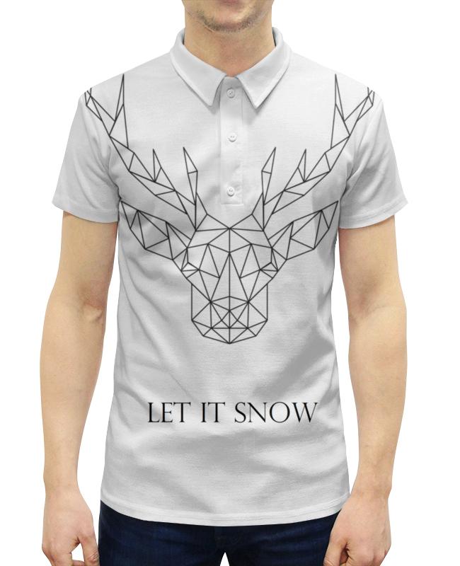 Рубашка Поло с полной запечаткой Printio Dear deer рубашка поло с полной запечаткой printio dear deer