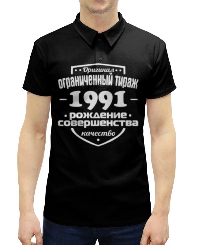 Рубашка Поло с полной запечаткой Printio Ограниченный тираж 1991