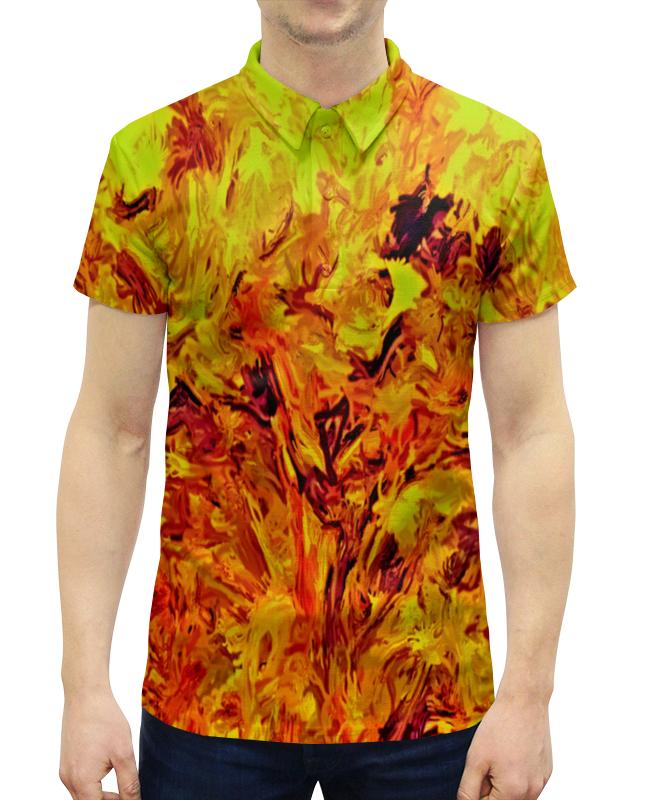 Рубашка Поло с полной запечаткой Printio Яркая живопись борцовка с полной запечаткой printio яркая живопись