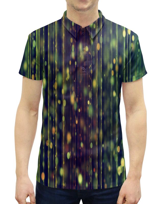 Рубашка Поло с полной запечаткой Printio Солнечные блики свитшот унисекс с полной запечаткой printio солнечные блики