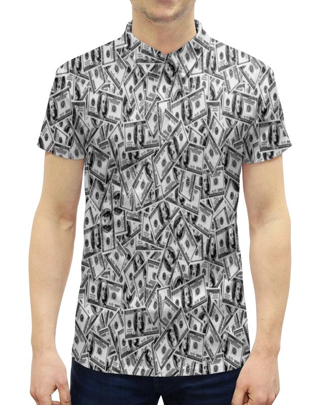 Рубашка Поло с полной запечаткой Printio Доллар куплю авто 2500 доллар в бишкеке