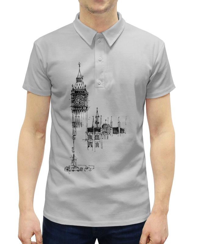 Рубашка Поло с полной запечаткой Printio Big ben женская рубашка european and american big c002617 2015