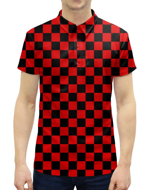 Рубашка Поло с полной запечаткой Printio Шашечка рубашка поло printio будь готов бгто