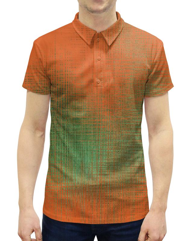 Рубашка Поло с полной запечаткой Printio Оранжевые линии рубашка поло с полной запечаткой printio оранжевые линии