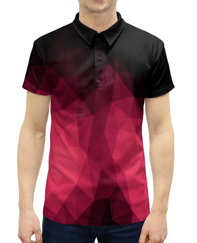 Рубашка Поло с полной запечаткой Printio Объемный узор поло print bar узор