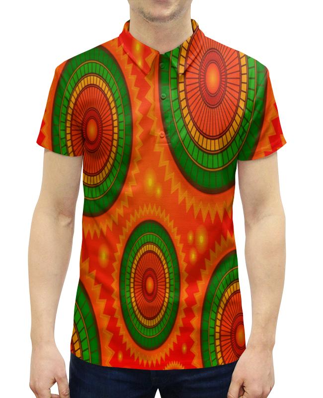 Фото - Printio Абстрактные круги рубашка поло с полной запечаткой printio цветные круги