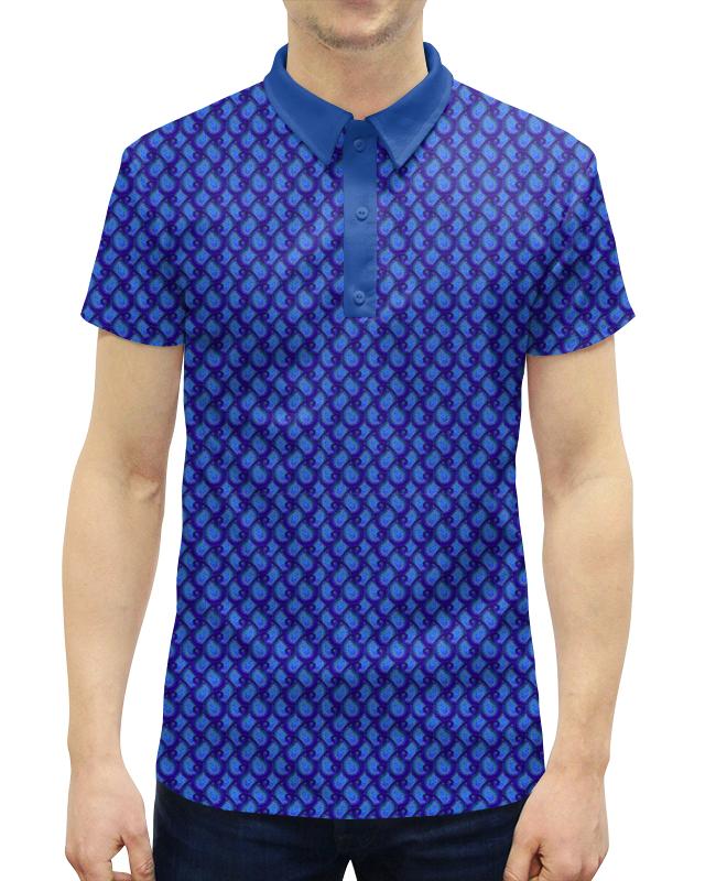 Printio Синий пейсли, мужской орнамент богатая птица fuguiniao мужской деловой случайный куртка мужской удобный slim воротник рубашка 17014fg1703 темно синий m