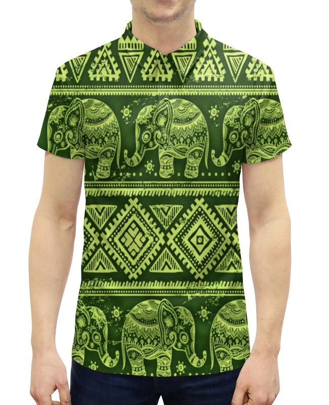 Рубашка Поло с полной запечаткой Printio Слоны паззл clementoni hq 500эл слоны песок 30350
