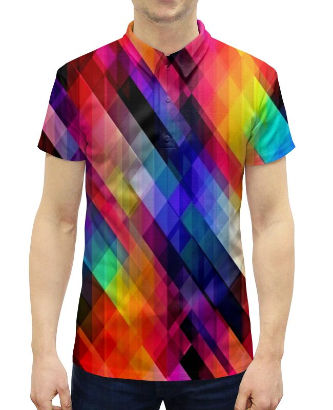 f2f6741a68b Рубашка Поло с полной запечаткой Printio Цветные узоры рубашка поло с полной  запечаткой printio узоры