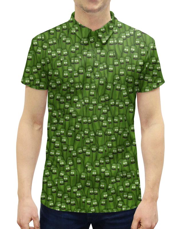 Рубашка Поло с полной запечаткой Printio Огурчики бомбер printio огурчики