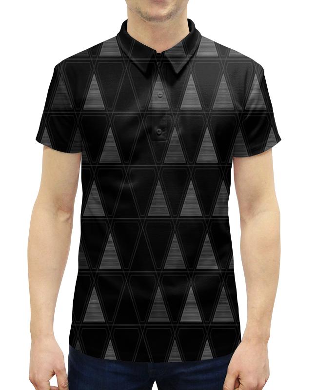 Рубашка Поло с полной запечаткой Printio Треугольник прорезыватели macik забавка треугольник с колечками