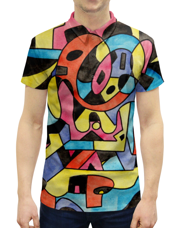 Рубашка Поло с полной запечаткой Printio Ttt`12ll холст 50x50 printio ttt 12ll