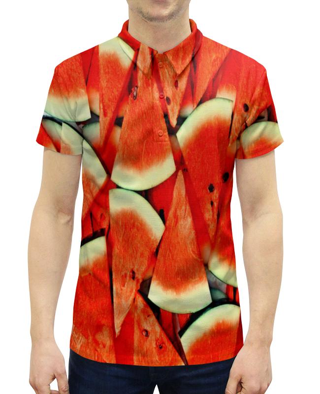Рубашка Поло с полной запечаткой Printio Сочный арбуз рубашка поло с полной запечаткой printio сочный арбуз