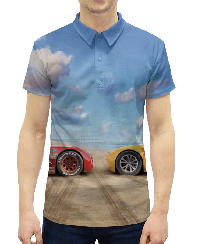 Рубашка Поло с полной запечаткой Printio Тачки рубашка поло printio фк нефтехимик