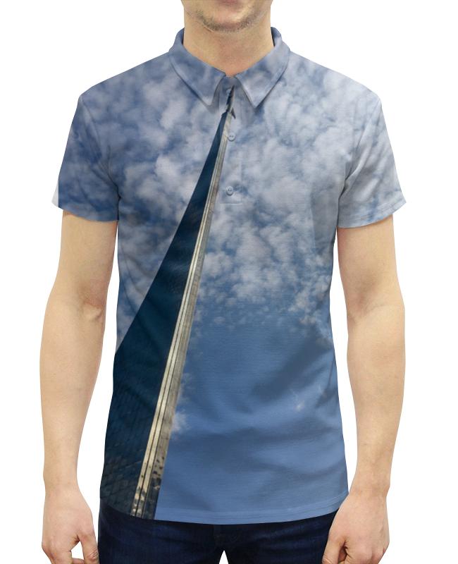 Рубашка Поло с полной запечаткой Printio Moscow space поло print bar space mandala