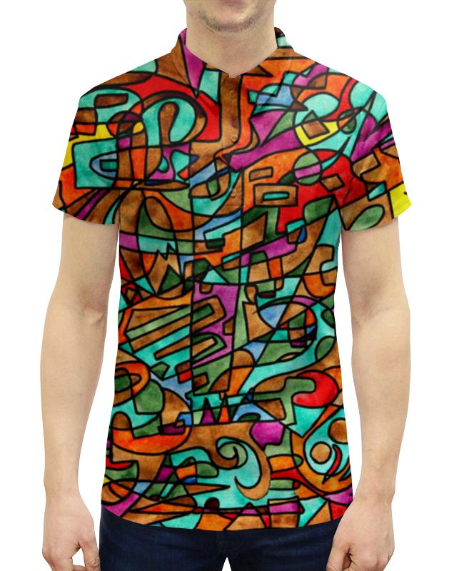 Рубашка Поло с полной запечаткой Printio 2ex/`12v свитшот унисекс с полной запечаткой printio 2ex 12v