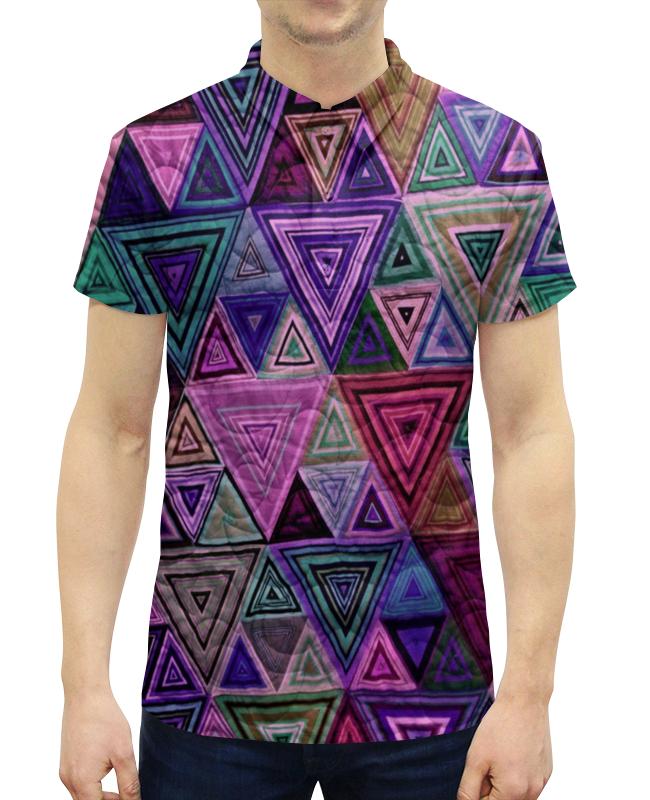 Рубашка Поло с полной запечаткой Printio