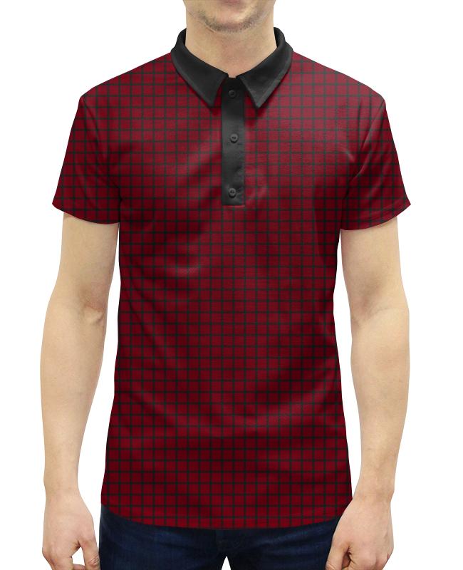 Рубашка Поло с полной запечаткой Printio -