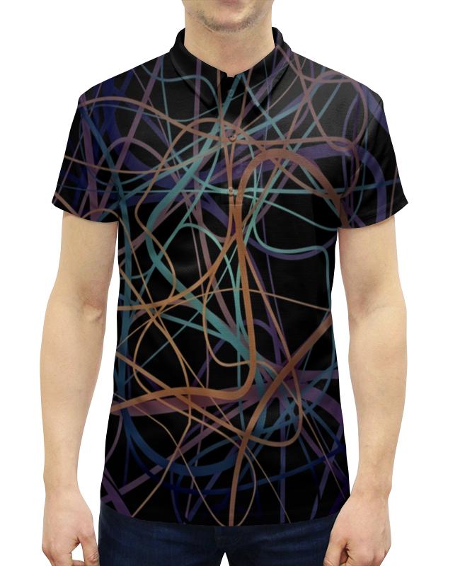 Рубашка Поло с полной запечаткой Printio Пересечение рубашка поло printio фк нефтехимик