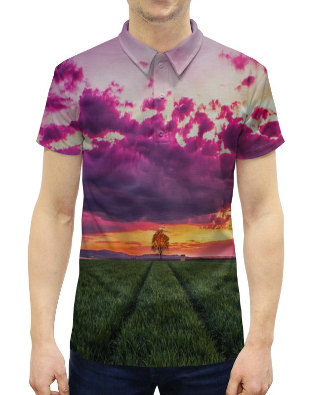 Рубашка Поло с полной запечаткой Printio Дерево printio рубашка поло с полной запечаткой