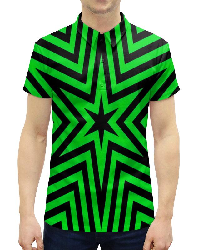 Рубашка Поло с полной запечаткой Printio Звезда gianna июня европы с высоким раунд с шу ци звезда blk полоса тонкая длинная рубашка холтер платье