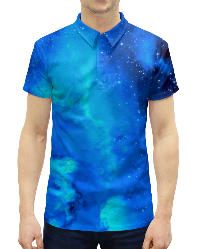 Рубашка Поло с полной запечаткой Printio Звездное небо картленд барбара звездное небо гонконга