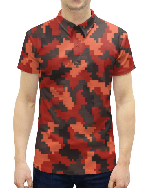 Рубашка Поло с полной запечаткой Printio Защитник нож защитник