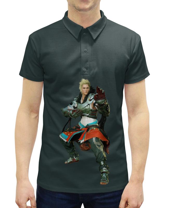 Рубашка Поло с полной запечаткой Printio Black desert