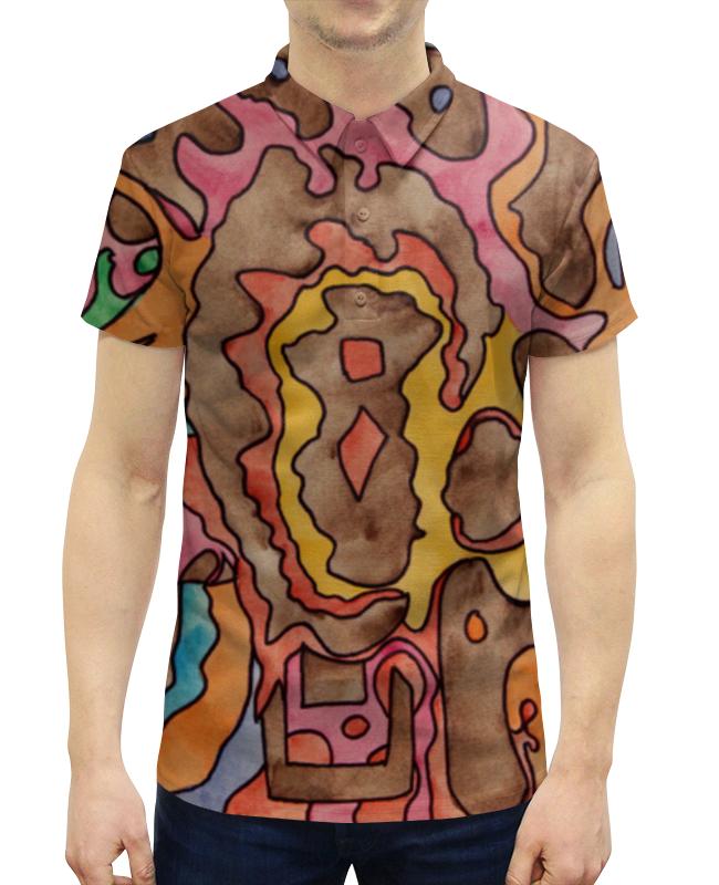 Рубашка Поло с полной запечаткой Printio R1azq00