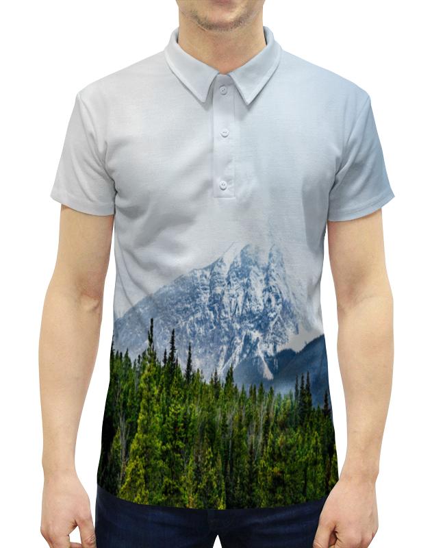 Printio Снежные горы дутики снежные walkmaxx цвет коричневый
