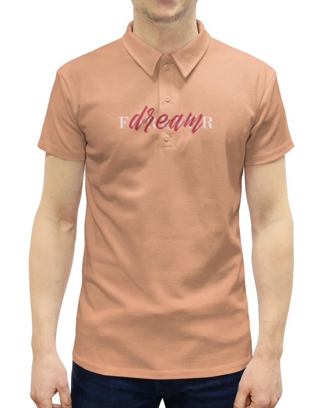 Рубашка Поло с полной запечаткой Printio Dream forever поло print bar tupac forever