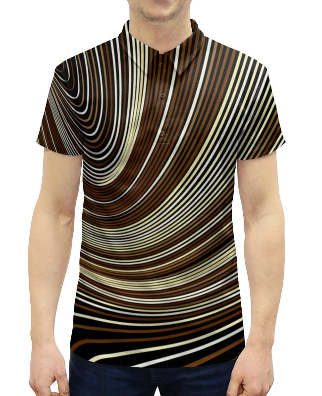 Рубашка Поло с полной запечаткой Printio Линии рубашка поло с полной запечаткой printio линии
