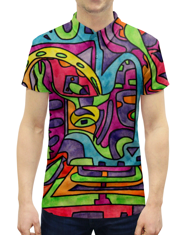 Рубашка Поло с полной запечаткой Printio Fp`pf-o[]80 shure mx150b o tqg