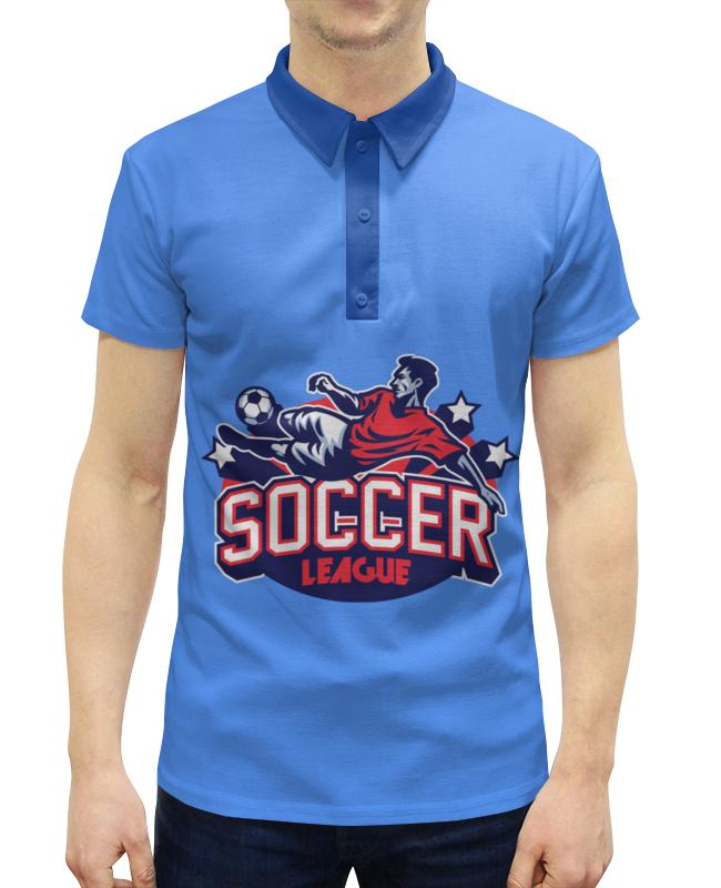 Рубашка Поло с полной запечаткой Printio Футбол printio рубашка поло с полной запечаткой