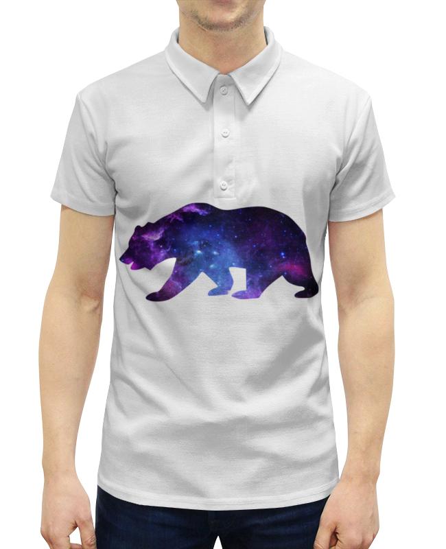Рубашка Поло с полной запечаткой Printio Space animals поло print bar nebula space