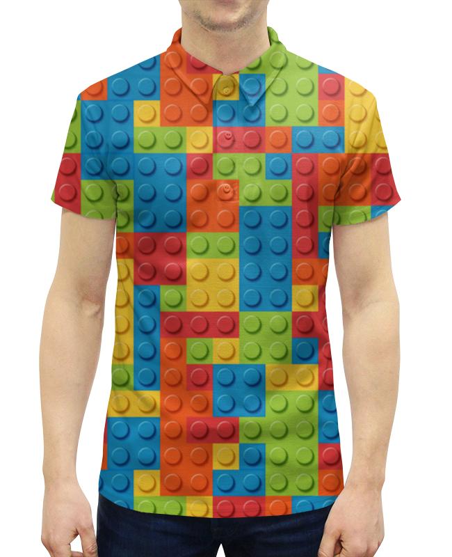 Рубашка Поло с полной запечаткой Printio Lego