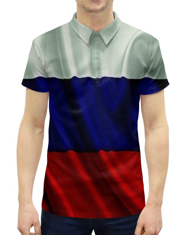 Рубашка Поло с полной запечаткой Printio Триколор оптимум триколор купить карту где