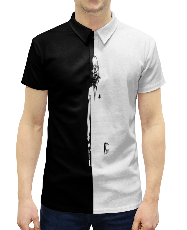 Рубашка Поло с полной запечаткой Printio Киллер киллер