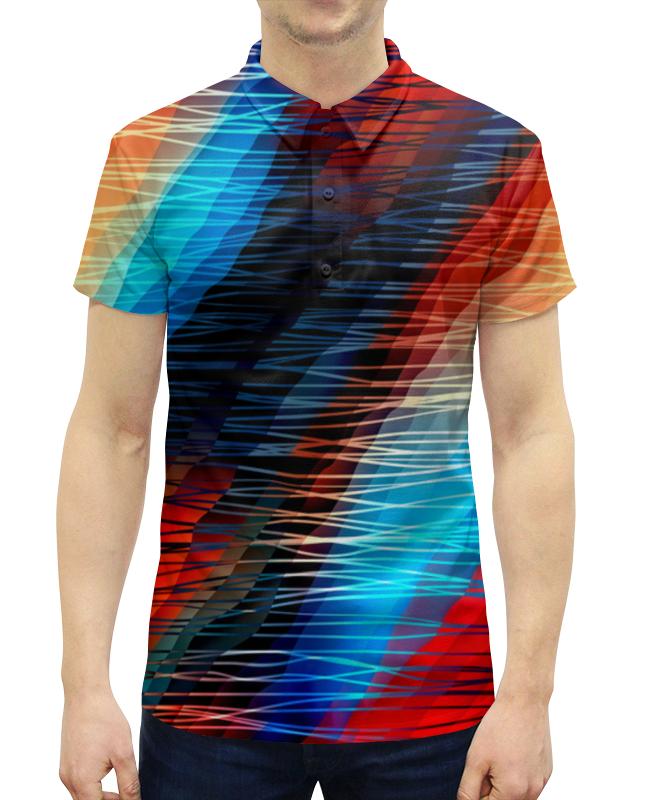 Printio Цветные текстуры футболка с полной запечаткой мужская printio цветные текстуры